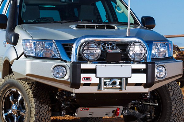 Toyota tundra off road bumpers