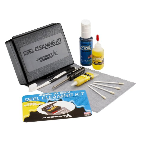 Ardent a4000 a reel cleaning kit fishing misc fishing for Fish cleaning kit