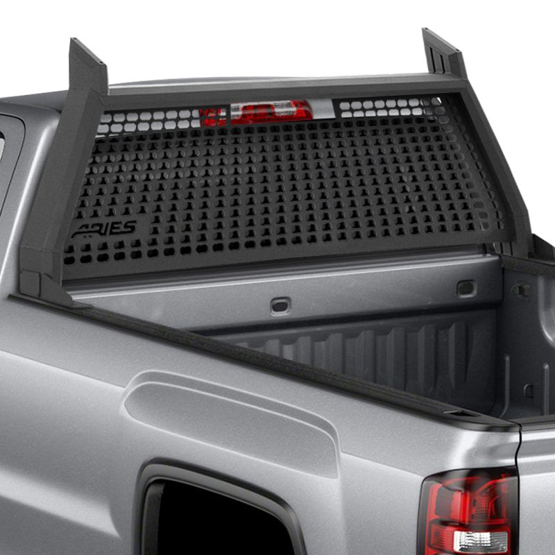 Aries Chevy Silverado 2015 2016 AdvantEDGE Headache Rack