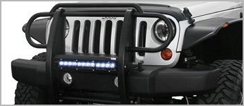 Aries® Pro Series Grille Guard on Jeep Wrangler