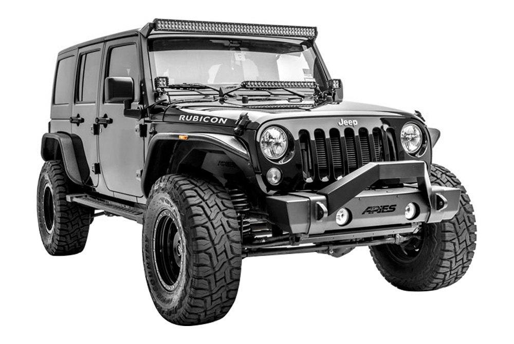 aries jeep wrangler 2017 hood mounts for 20 led light bars. Black Bedroom Furniture Sets. Home Design Ideas