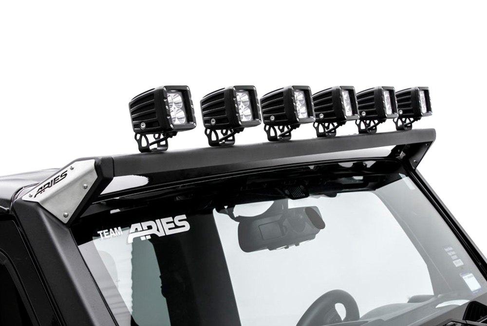 aries jeep wrangler 2007 2017 windshield frame mounts. Black Bedroom Furniture Sets. Home Design Ideas