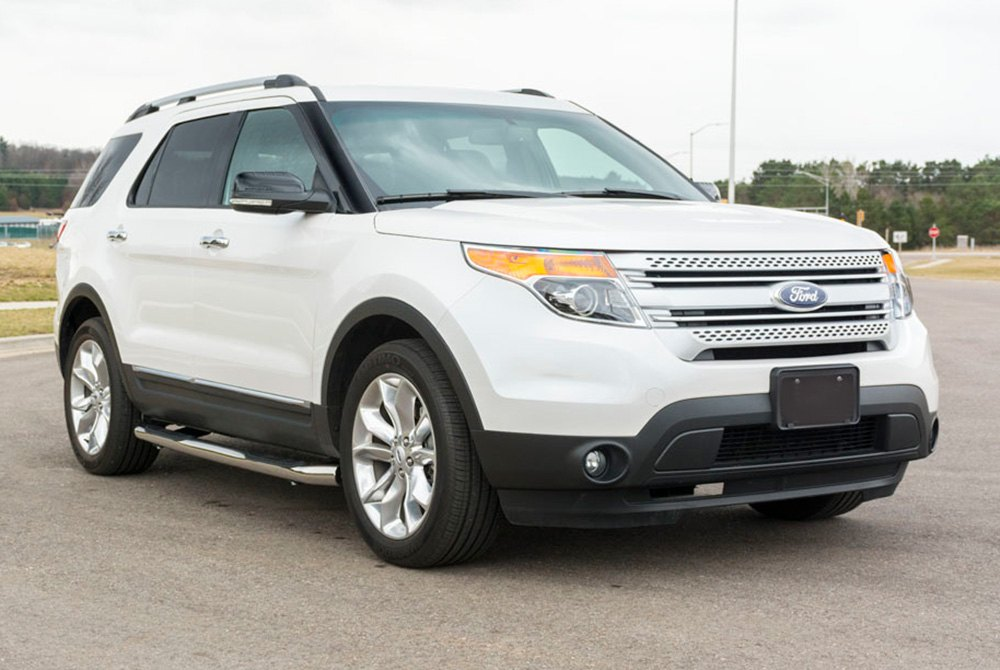 Aries 174 Ford Explorer 2013 3 Quot Wheel To Wheel Round Side Bars