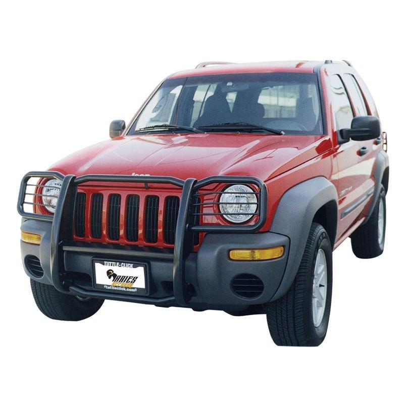2002 Jeep Liberty Exterior: For Jeep Liberty 2002-2004 Aries 1045 Black 1-Piece Design