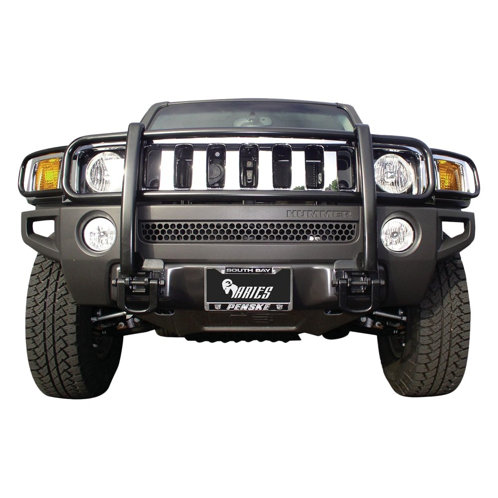 Aries® - 11-Piece Design Grille Guard | hummer h3 grill guard
