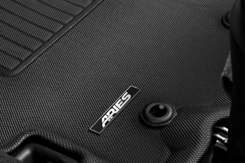 Aries CH05821809 Black Liners Custom Fit Floor Mat