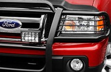 Aries® - Matte Black One-Piece Grille Guard