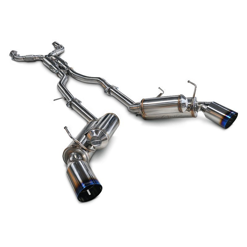 Ark Performance® Grip™ Stainless Steel Catback Exhaust Systemark: Cat Back Exhaust Systems At Woreks.co