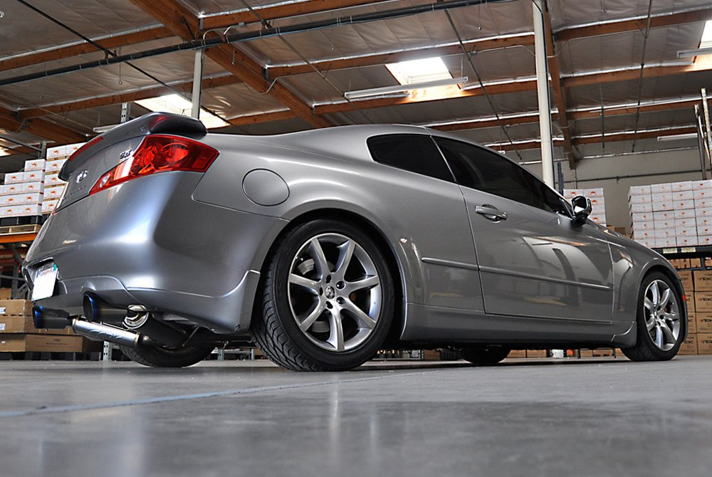 2003 Infiniti G35 Coupe >> ARK Performance® SM1101-0103G - GRiP™ 304 SS True Dual Cat-Back Exhaust System with Split Rear Exit