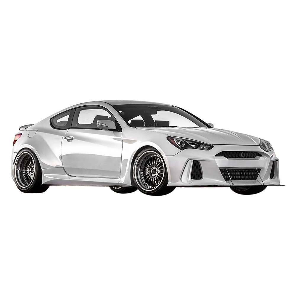 ark performance hyundai genesis coupe 2016 solus fiberglass body kit. Black Bedroom Furniture Sets. Home Design Ideas