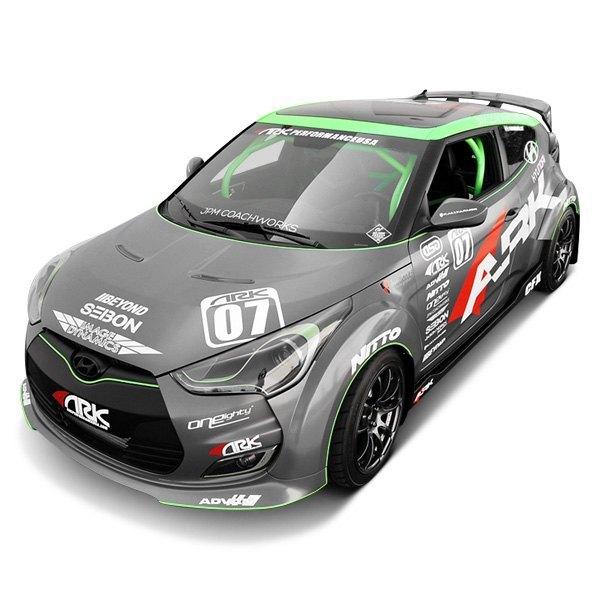 Ark Performance Hyundai Veloster 2016 C Fx Carbon Fiber Gt Wing
