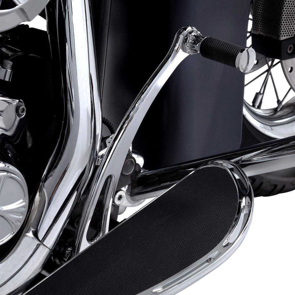 """Arlen Ness Radius Chrome Extended 1/"""" Brake Lever Harley FL Softail /'00-/'16"""