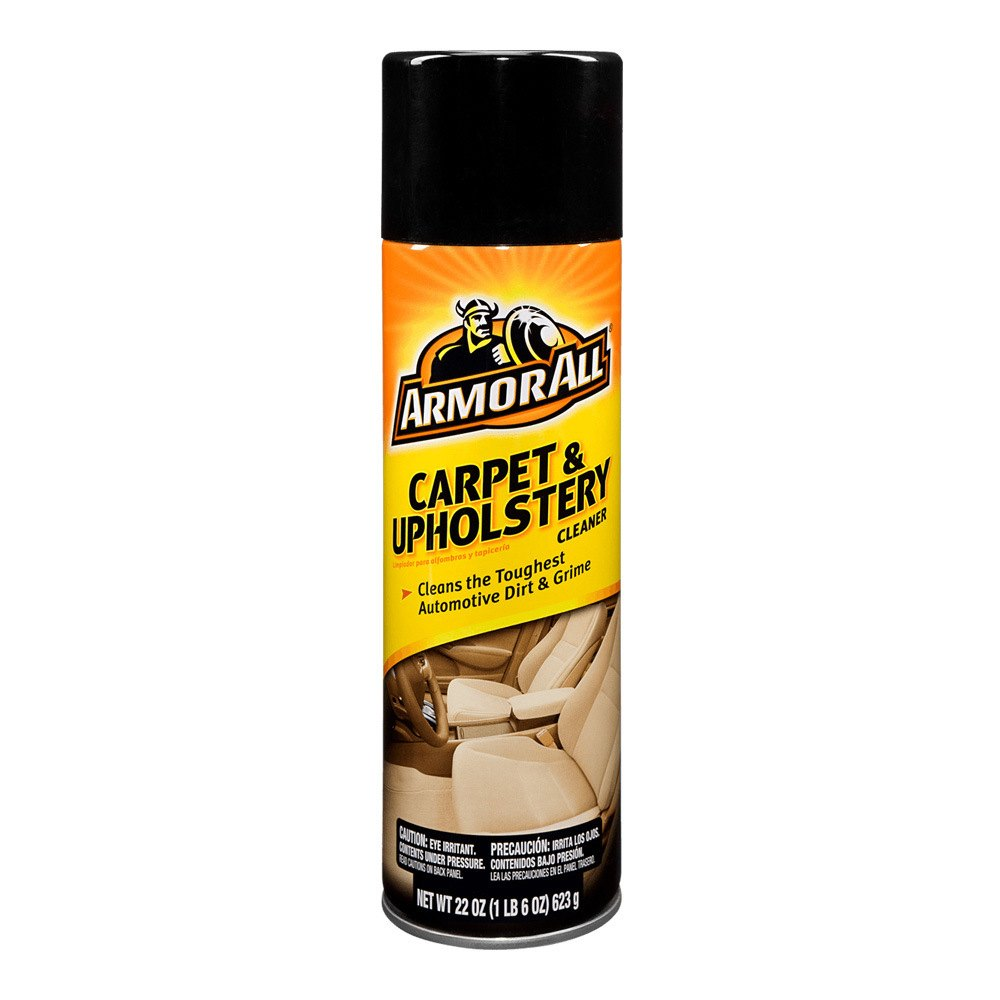 armor all 78091 carpet and upholstery cleaner aerosol. Black Bedroom Furniture Sets. Home Design Ideas