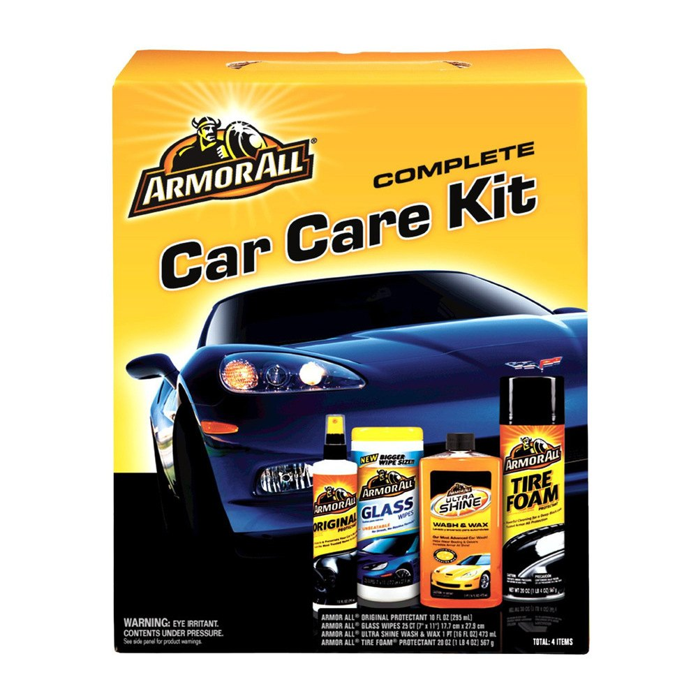 Armor All 78452 Aa Complete Car Care Kit