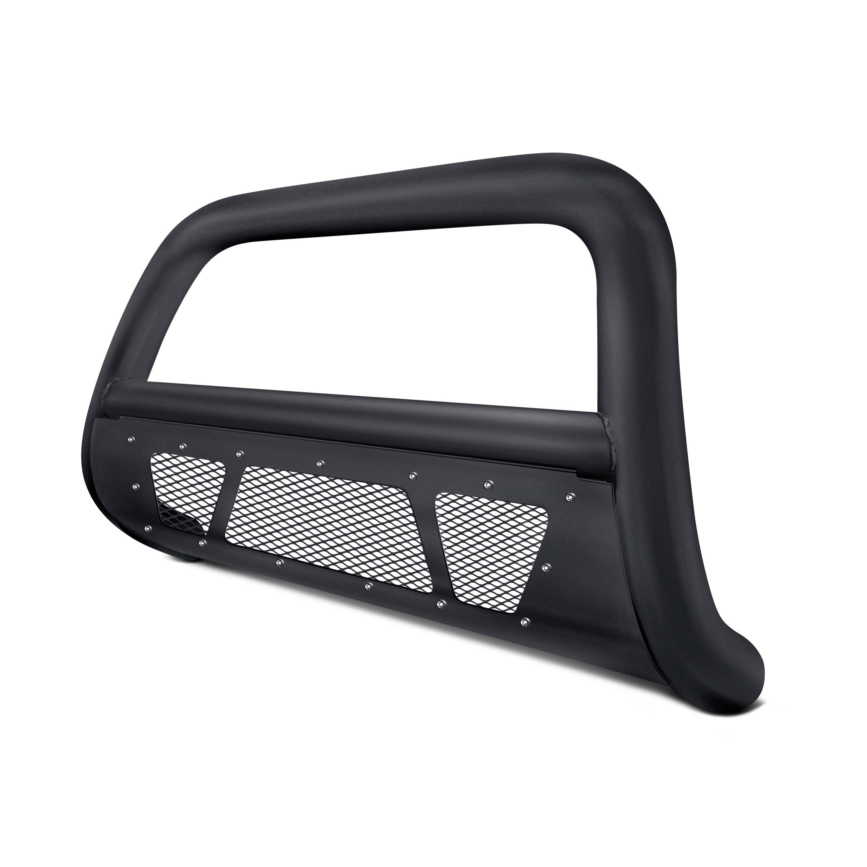 Armordillo USA 7169005 MS Series Bull Bar Fits 2014-2018 Chevy Silverado 1500 Matte Black W//Mesh Skid Plate