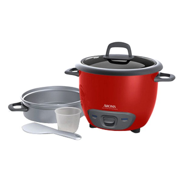 Aroma® ARC7431NGR - 6-Cup Pot-Style Rice Cooker