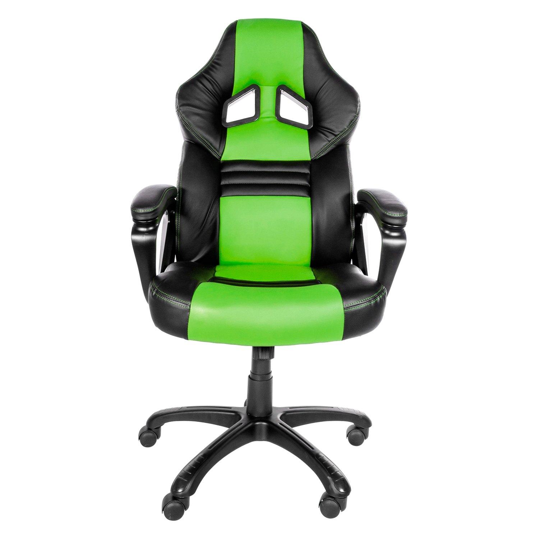 Arozzi MONZA GN Monza Series Black Green Gaming Chair