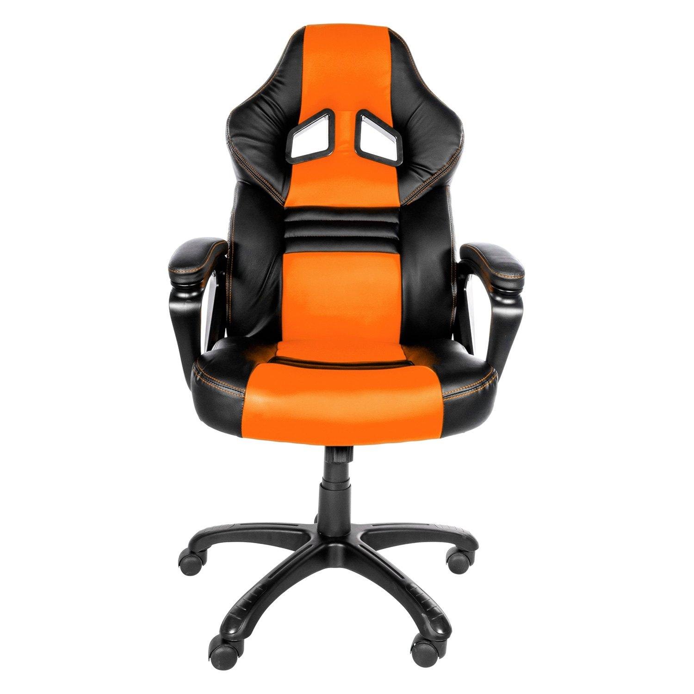 Arozzi MONZA OR Monza Series Black Orange Gaming Chair