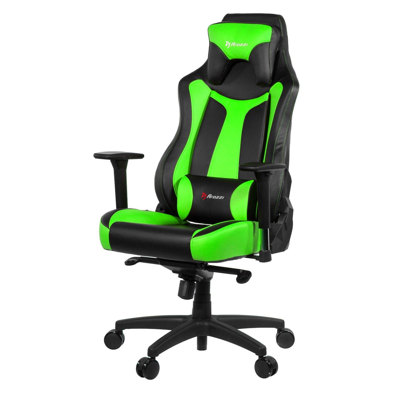 Arozzi VERNAZZA GN Vernazza Series Black Green Gaming Chair