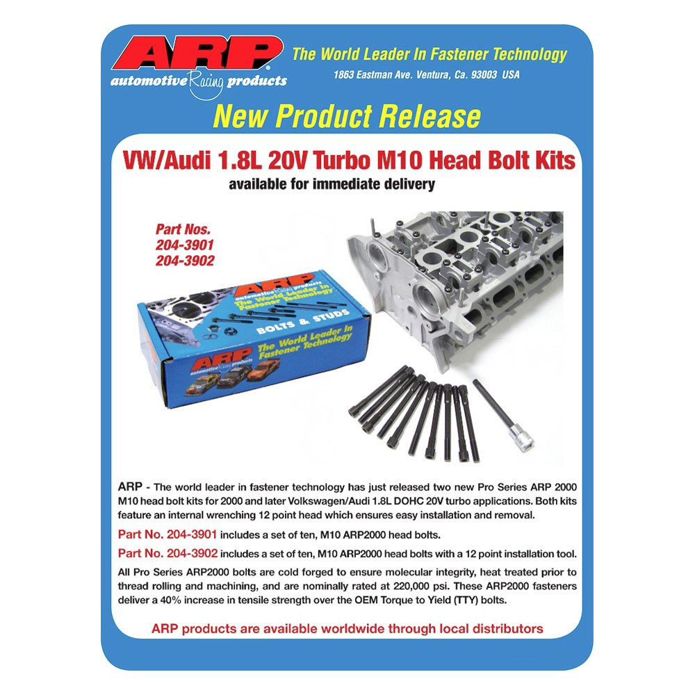 ARP 204-3902 Cylinder Head Stud Kit
