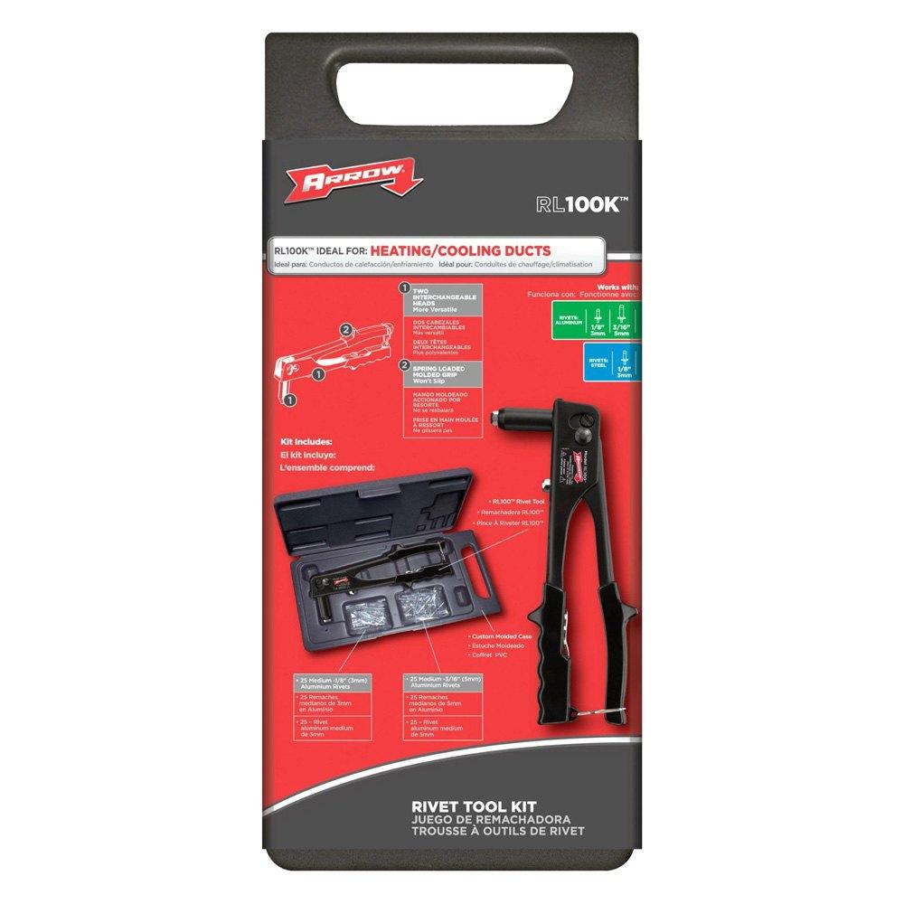 Arrow Fastener 174 Rl100k Rivet Tool Kit