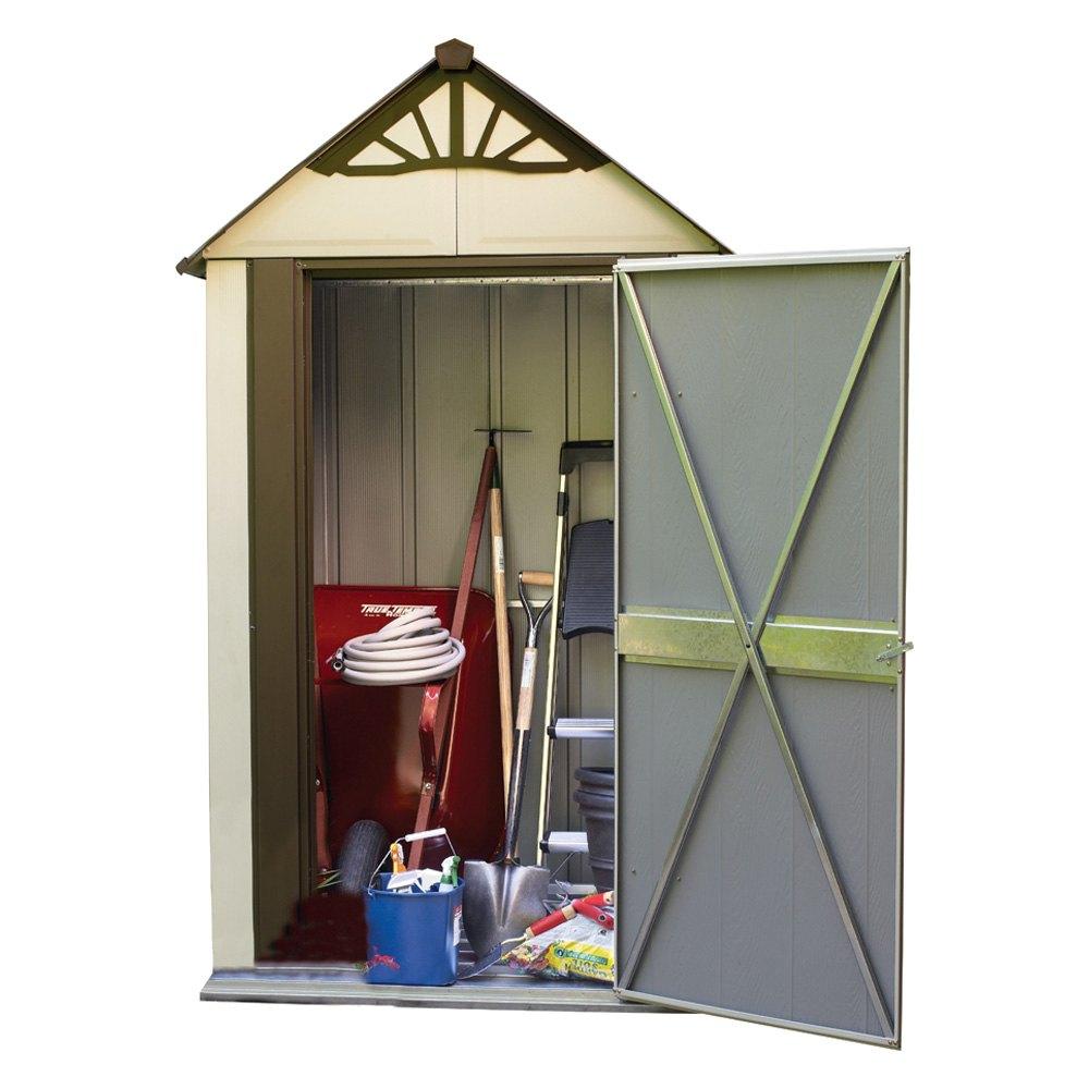 arrow storage dsm42 designer series metro shed