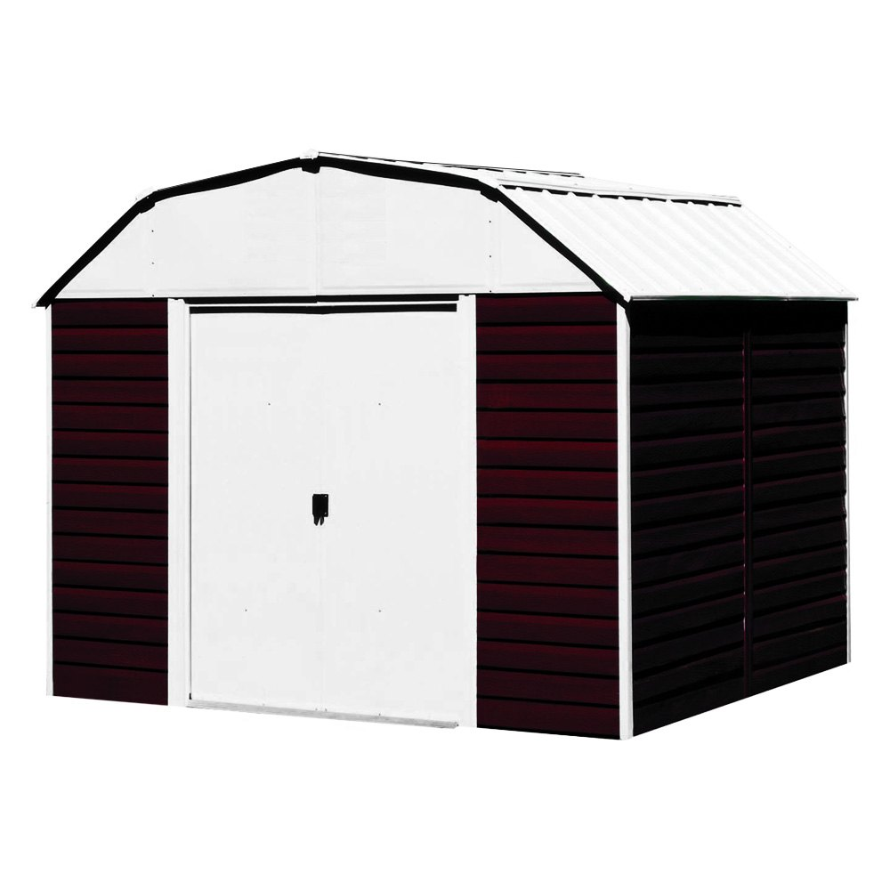 Arrow storage rh1014 10 39 x 14 39 red barn shed for Garden shed repair parts