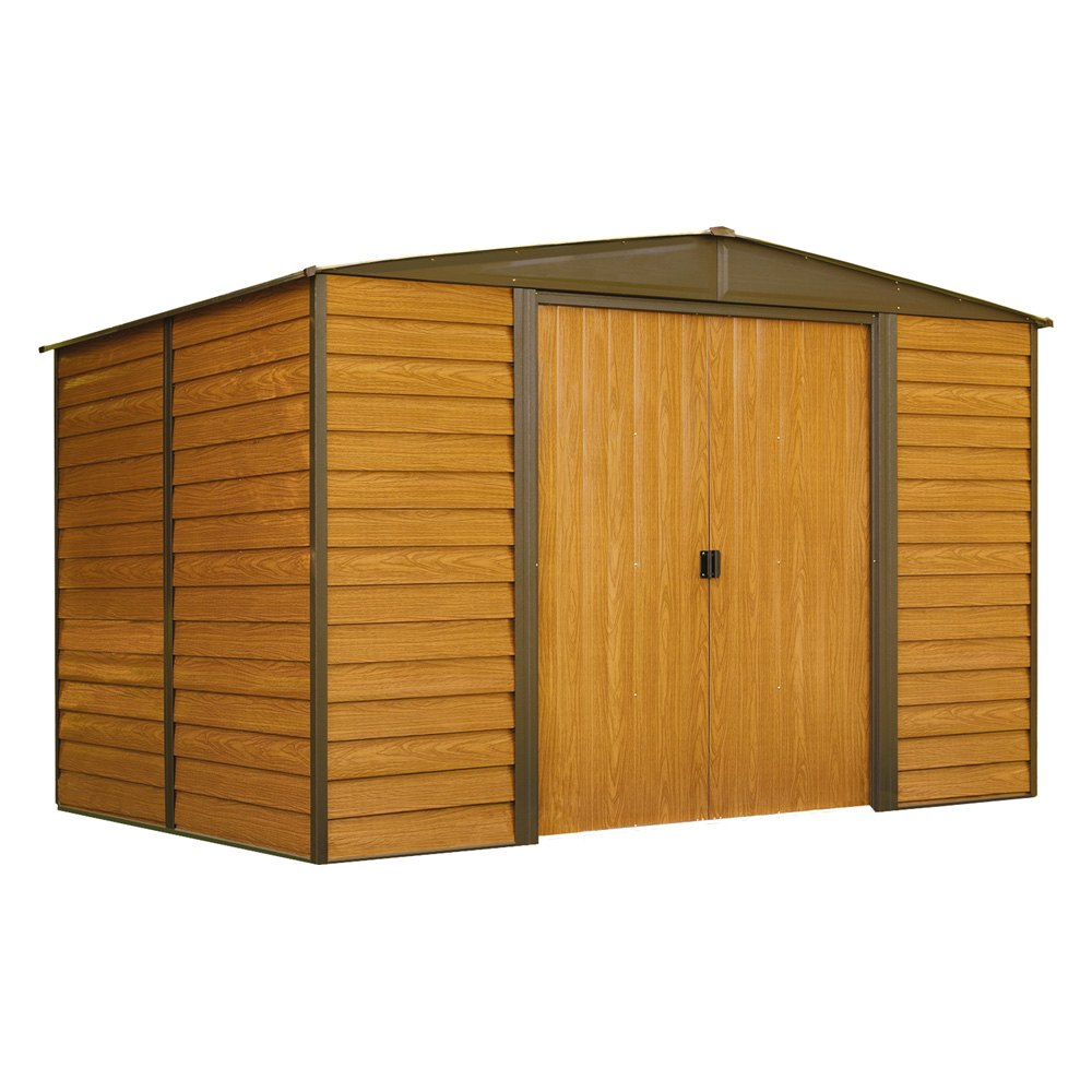 Arrow storage wr108 10 39 x 8 39 woodridge shed for Garden shed repair parts