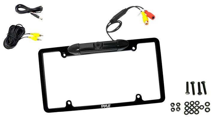 Pyle Low Lux License Plate Backup Camera