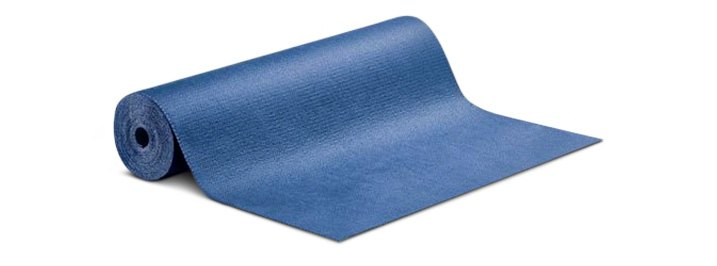 Blue Roll-Out Mats With Adhesive Backing