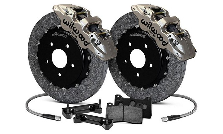 Wilwood Street Performance Carbon-Ceramic Brake Kit