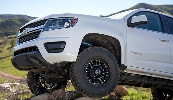 Lifted Chevy Colorado