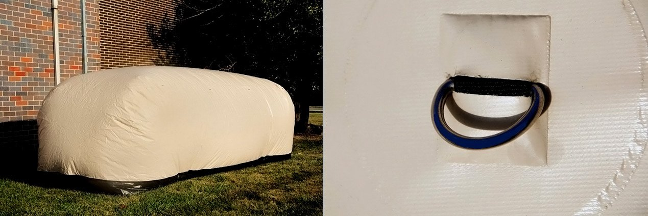 Car Capsule Tan Outdoor Bubble Car Cover
