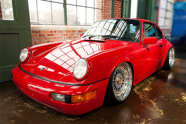 Well Detailed Red Porsche 911