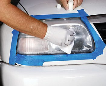 Polishing Of Headlight Assembly