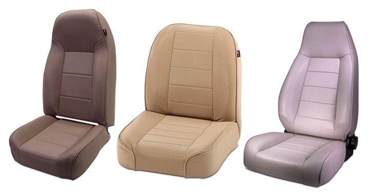 Rugged Ridge Replacement Seats