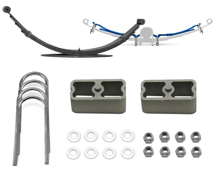Performance Leaf Helper Springs For Leaf Spring Suspension