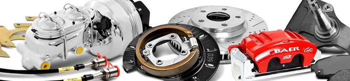 Disc Brake Conversion Kit Components