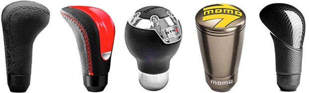 Custom Shift Knobs From Momo