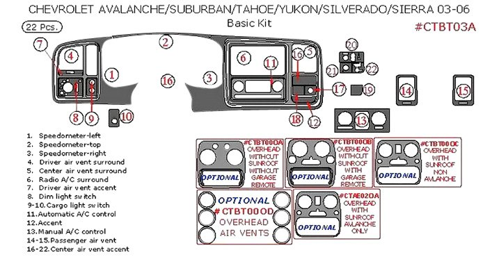Dash Kit Schematic Drawing