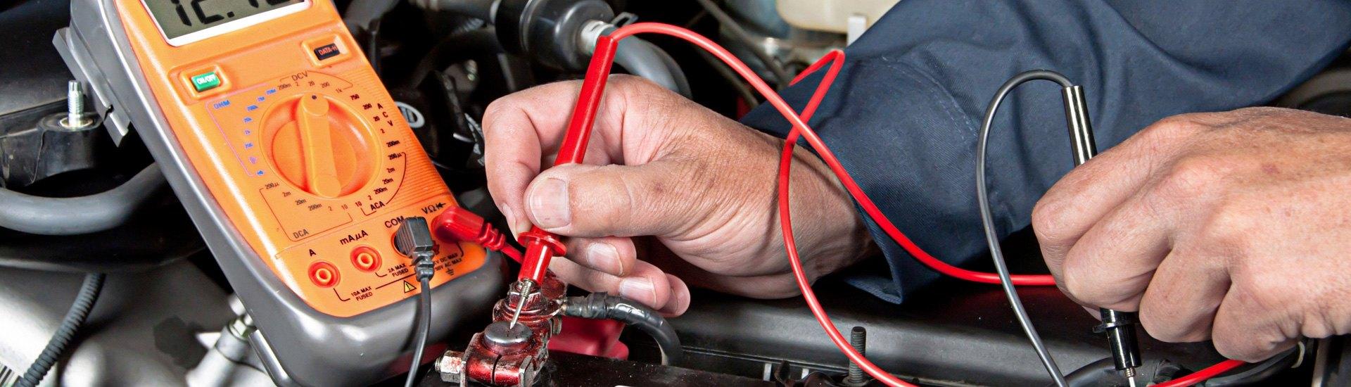 Digital Multimeter Basics 12v Dc Heavy Duty Auto Car Circuit Tester Test Light Checks Fuse