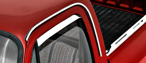 AVS Stainless Steel Vent Shade Window Deflectors