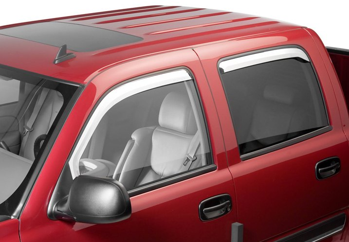 Putco Chrome-Plated Window Visors
