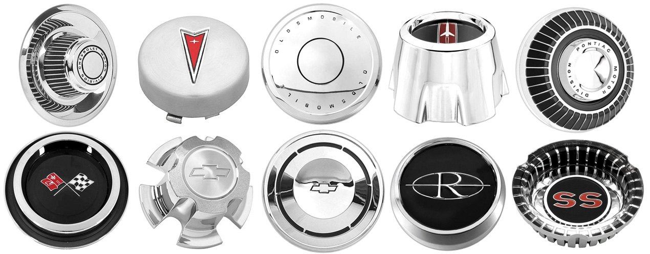 OPGI Variety Of Center Cap Types For GM Vehicles