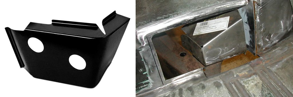 Rear Wheel Box Brace Covers
