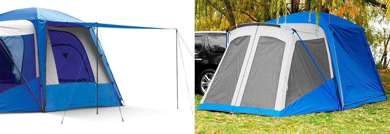Automotive Tent With Front