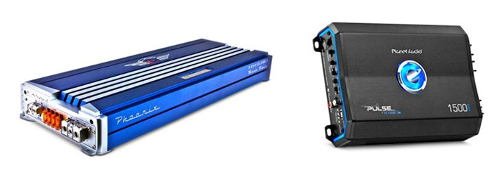 Stand Alone Car Amplifiers