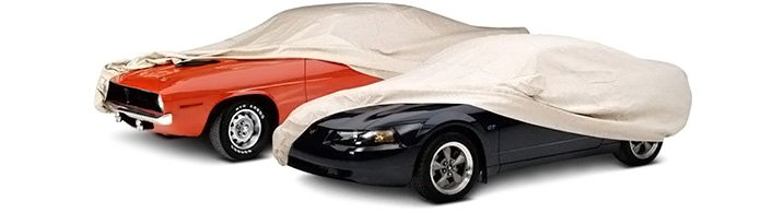 Indoor Car Covers On Classic New Cars