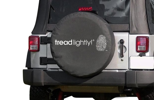 Rugged Ridge Tread Lightly Tire Cover
