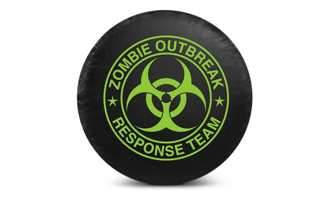 Bully Zombie Outbreak Spare Tire Cover